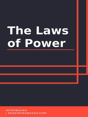 cover image of The Laws of Power